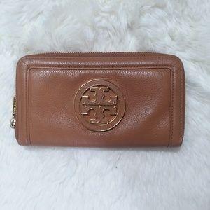 Tory Burch Amanda wallet brown